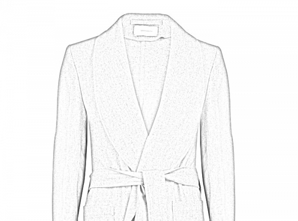 bespoke dressing gowns silhouette